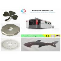 Wholesale High - Speed Big Format Fiber Laser Cutting Machine For Hard Metals , Stable Performance from china suppliers