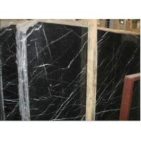 Wholesale black marquina marble slabs from china suppliers