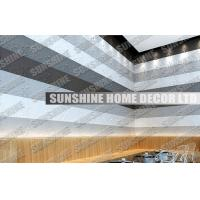 Wholesale Sound Absorption Plastic 3D Wall Art Tiles For Office / Living Room from china suppliers