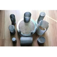 Wholesale SUS 304 Stainless Steel Decorative Perforated Metal Mesh Tube , 20M Length from china suppliers