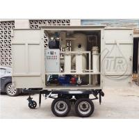 Wholesale Easy Move Portable Double Vacuum Transformer Oil Purification Equipment for Sale from china suppliers