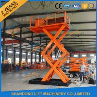 Quality Low Profile Lift Table Hydraulic Scissor Lift Table / Material Handling Lifts for sale