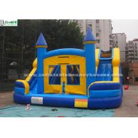 Wholesale Commercial Kids Water Inflatable Bounce Houses With Slides N Pool from china suppliers