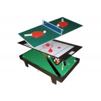 Wholesale Multi Function Table Tennis Game Table Flannel Brown Color For Children from china suppliers