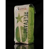 Wholesale Quad Seal Foil Coffee Packaging Bags , Stand up Coffee Pouch from china suppliers