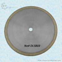 Quality Bronze Sintered Diamond Saw Blade for Cutting Glass and Gemstone - DLSB03 for sale