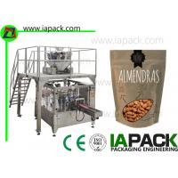 Wholesale 110g Nuts Pouch Grain Packing Machine Form Fill Seal Packaging from china suppliers
