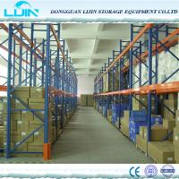 Wholesale High Density Drive Industrial Storage Rack 1350mm - 3900mm Width Optional Color from china suppliers