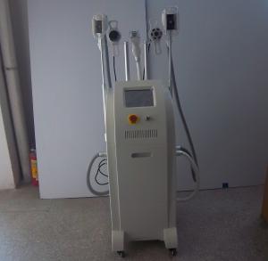 Quality Three cryo handles cryolipolysis rf cavitation system cryolipolysis slimming machine for sale