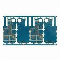 Buy cheap Multilayer HDI PCB with Immersion Gold Surface Treatment and 1oz Copper from wholesalers