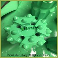 Quality T38 Thread Ballistic / Spherical Retrac Button Green Bit Mining Drill Bits for sale