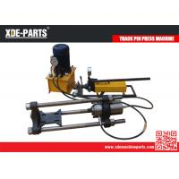 Wholesale 100/150/200Ton Portable Hydraulic Track Link Pin Pusher Machine For Excavator&Dozer from china suppliers