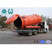 Wholesale 6 x 4 LHD Large Capacity Sewer Vacuum Truck For Sanitation Enterprise from china suppliers