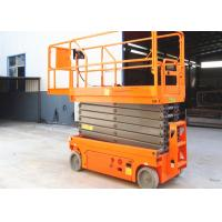 Wholesale Smart Self Leveling Scissor Lift 11.8m Lightweight 230kg Loading Capacity from china suppliers