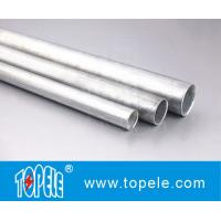 Wholesale EMT Conduit And Fittings Carbon Steel Galvanised Tube , Electrical Metallic Tubing from china suppliers