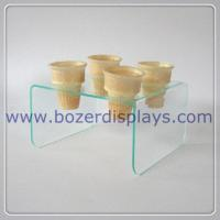 Buy cheap Elegant Acrylic Display Stand For Ice Cream Cones from wholesalers