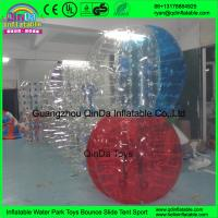 Wholesale Outdoor Grass Team Sports Customs TPU / PVC Human Body Inflatable Ball Suit from china suppliers