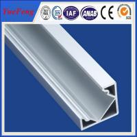 Quality Hot selling product 6063 T5 aluminium strip light channels sealed aluminium enclosure for sale