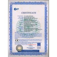 Nanjing Metlan Measurement & Control Instrument Co., Ltd Certifications