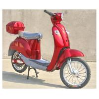 Wholesale Hand Brake 350w Electric Moped Bike With Permanent Magnet Brushed DC Motor from china suppliers