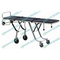 Movable Corpse Makeup Foldable Stretcher Trolley Aluminum Alloy