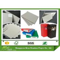 Wholesale Grade AA Full Grey Paper Board Rigid Boxes Cardboard Sheets , MSDS from china suppliers