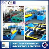 Wholesale High Efficient Pallet Rack Roll Forming Machine For 1.5 - 2.0mm Plate Material from china suppliers