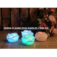 Wholesale Electric Party Flameless LED Christmas Window Candles Lights with Rose Flower Shape from china suppliers