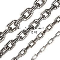 Wholesale DIN 766 Transmission Stainless Steel Link Chain Diameter 14mm 1.25KN-160KN from china suppliers