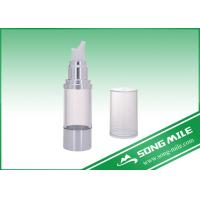 Quality 50ml Colorful Cosmetic Plastic and Aluminium Airless Bottle for sale