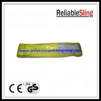 Wholesale Durable PES Flat Webbing Sling for Lifting , industrial eye to eye sling from china suppliers
