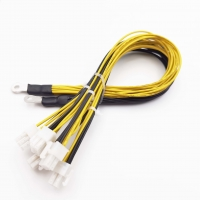 Wholesale 30cm 6Pin Electronics Cable Splitter Power For BTC Miner Bitcoin from china suppliers