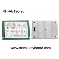 Wholesale Custom Layout 20 Keys Metal Numeric Keypad for Self - Service Kiosk from china suppliers