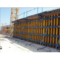 Wholesale 60KN/m2 Retaining Concrete Wall Formwork Timber Beam Wall Formwork , Waterproof 55-60kg/m2 from china suppliers