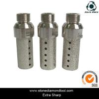 Buy cheap brazed/sintered diamond core drill bits for stone hole dirlls from wholesalers