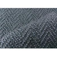 Quality Beautiful Grey Herringbone Wool Fabric Super Soft For Men Suiting  for sale