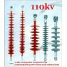 EHV DC Transmission Line Long Rod Insulators Composite Polymer 110kv