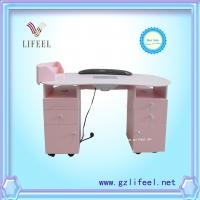 Wholesale Pink manicure table nail desk nail table nail salon equipment from china suppliers