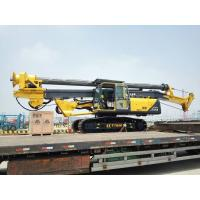 Wholesale 37m / 45m Drilling Depth Piling Rig Machine , Foundation Drill Rigs 34T Overall Weight from china suppliers
