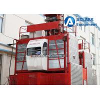 Wholesale 4 Tons VFD / FC control Rack Pinion Building Hoist With Mast Sections from china suppliers
