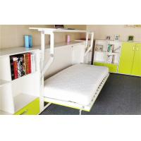 Wholesale Melamine Finish Fold Away Horizontal Wall Bed Single Hidden Bed from china suppliers
