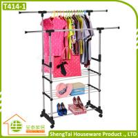 New Design Portable Stainless Steel Clothes Three Tier Dryer Rack