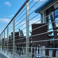 Wholesale DIY stainless steel balustrade systems with solid rod bar design from china suppliers