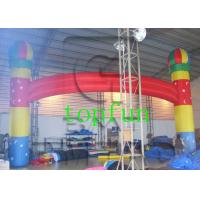 Wholesale 0.55 mm PVC Tarpaulin Inflatable Advertising Balloon Arch Custom Made from china suppliers
