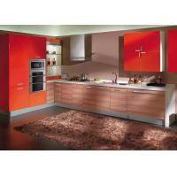 Melamine Paint For Antique Red Kitchen Cabinets , Flat