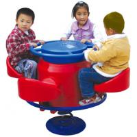 Wholesale good quality outside play equipment plastic merry go around for children from china suppliers