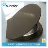 Buy cheap Xiamen White Urea European Standard Oval Grey Toilet Seat Covers from wholesalers