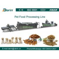 Wholesale Stainless Steel Twin Screw Dry Pet Food Extruder equipment for Dog , birds from china suppliers