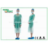 Wholesale Disposable Protective Sterilized Surgical Gown / Disposable Isolation Gown with Knitted Wrist from china suppliers