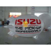 Wholesale Inflatable 0.18mm PVC Helium Zeppelin , Exhibition Digital Printing Helium Airships from china suppliers